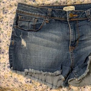 Forever 21 Jean Shorts Sz 31